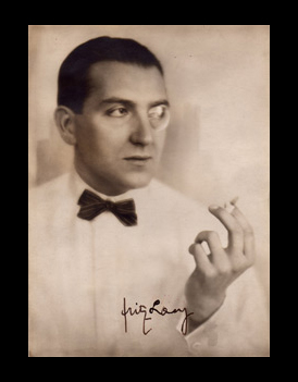photograph signed by Fritz Lang